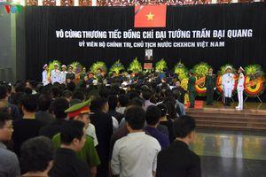 Các tầng lớp nhân dân xúc động viếng Chủ tịch nước Trần Đại Quang