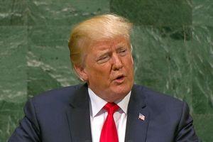 Các lãnh đạo thế giới đồng loạt bật cười khi Tổng thống Trump khoe thành tựu