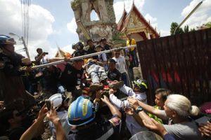 Thái Lan: Sập tháp chuông ở đền thờ, 12 người thương vong