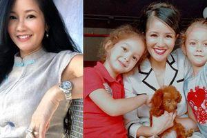 Hồng Nhung: 'Âm nhạc và hai con giúp tôi vượt qua nỗi buồn ly hôn'