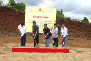 Khởi công xây trường mầm non tặng trẻ em vùng khó khăn