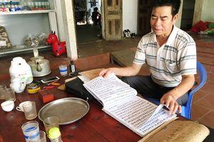 Trăn trở lưu giữ chữ viết của người Dao
