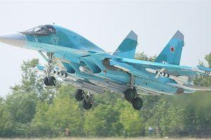 Su-34 diệt đồng thời 8 mục tiêu trên biển