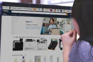 Bán hàng online của Amazon có trang tiếng Việt