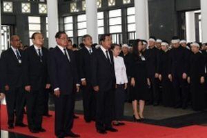 Các nước, các tổ chức quốc tế gửi Điện chia buồn và cử đoàn tới viếng Chủ tịch nước Trần Đại Quang