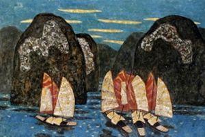25 họa sĩ sơn mài hội tụ với 'Lam'