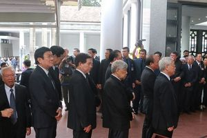 Tiễn biệt Chủ tịch nước Trần Đại Quang