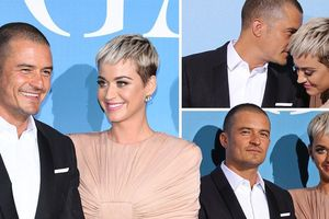 'Cướp biển' Orlando Bloom và bạn gái Katy Perry lần đầu dự thảm đỏ