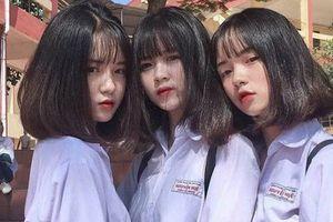 3 nữ sinh Yên Bái xinh như 'ngọc nữ', nhận được nghìn lời khen từ cư dân mạng