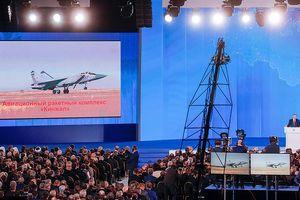Vũ khí mới chứng tỏ Nga là nước mạnh và không thể bị bỏ qua