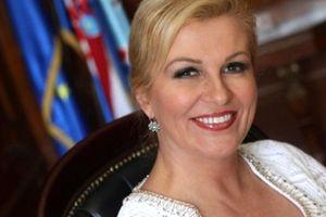 Chân dung nữ tổng thống xinh đẹp Croatia