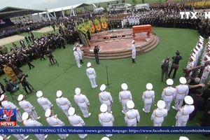 Lễ an táng Chủ tịch nước Trần Đại Quang tại quê hương Ninh Bình