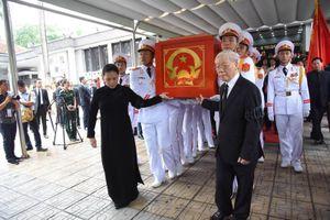 Lễ truy điệu Chủ tịch nước Trần Đại Quang