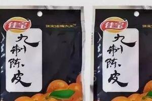 Trung Quốc phát hiện dư lượng chì cao gấp 8 lần trong đặc sản vỏ quýt sấy
