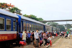 Từ ngày 1/10/2018, đường sắt Việt Nam bán vé tàu Tết Kỷ Hợi 2019