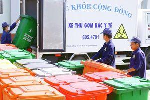 Xử lý rác thải y tế không đốt bằng công nghệ vi sóng