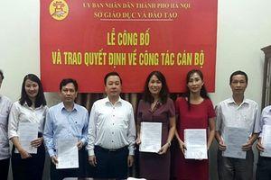 Hà Nội: Công bố và trao quyết định bổ nhiệm 6 Phó Hiệu trưởng