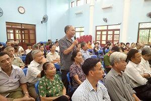 Trân quý những ý kiến đóng góp giúp lực lượng Công an hoàn thiện
