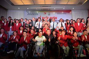 Đoàn Việt Nam quyết tâm giành 9 HCV Asian Para Games 2018