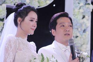Trường Giang và Nhã Phương khóc nghẹn trong lễ cưới