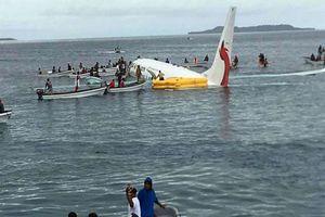 47 hành khách thoát chết thần kỳ trong vụ máy bay rơi xuống biển