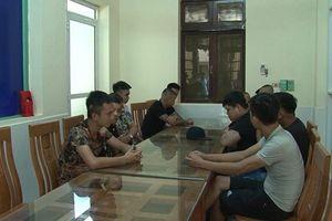 Hưng Yên: Khám xét 6 cơ sở kinh doanh tài chính có dấu hiệu cho vay nặng lãi