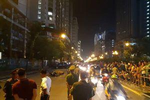 Sắt rơi từ công trình ở Hà Nội làm chết một người đi đường: Ai phải chịu trách nhiệm?