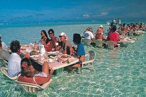 Trên trời dưới biển, đâu đâu cũng thấy những nhà hàng kỳ quặc