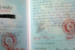 Quảng Ninh: Trưởng CA xã đòi 5 triệu 'cảm ơn' làm sổ hộ khẩu
