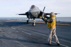 Mỹ lần đầu tiên sử dụng 'chim sắt' F-35B không kích mục tiêu