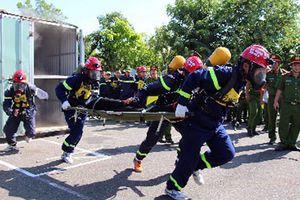 Chung kết hội thi Thể thao nghiệp vụ cứu nạn-cứu hộ toàn quốc lần thứ I