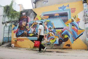 Khi người trẻ... đói sân chơi Graffiti
