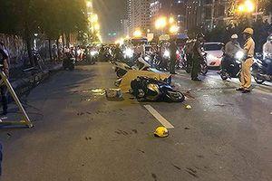 Khởi tố vụ thanh sắt rơi xuống đường khiến người phụ nữ thiệt mạng