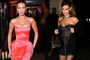 Bella Hadid gợi cảm khó rời mắt tại tuần lễ thời trang Paris