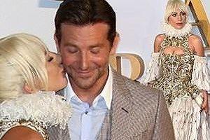 Lady Gaga lộng lẫy như nữ hoàng, hôn chồng Irina Shayk trên thảm đỏ