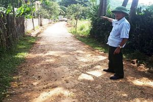 Trưởng thôn bị tố trục lợi hàng trăm triệu đồng từ các công trình xây dựng của thôn