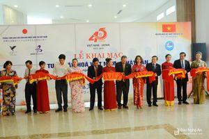 Nghệ An khai trương Tuần lễ văn hóa Việt - Nhật