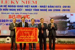 Kỷ niệm 10 năm thành lập Hội hữu nghị Việt – Nhật tỉnh Nghệ An