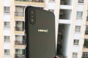 Smartphone Asanzo lộ thiết kế tràn viền, cảm biến vân tay cạnh bên