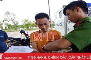 Cảnh sát Hình sự Hà Tĩnh bắt 'siêu cò' dự án xây dựng cơ bản