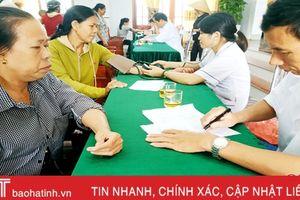 Formosa Hà Tĩnh tổ chức khám, cấp thuốc miễn phí cho hơn 250 người dân