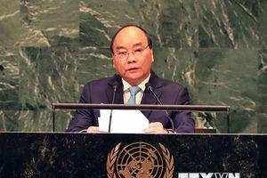 Hình ảnh hoạt động của Thủ tướng Nguyễn Xuân Phúc tại New York