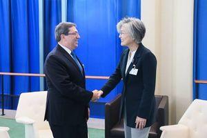 Hàn Quốc, Cuba thảo luận cách thức phát triển quan hệ song phương