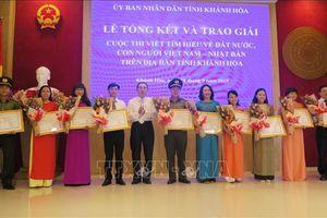 Trao thưởng cuộc thi viết về đất nước, con người Việt Nam - Nhật Bản
