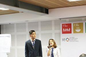 Thanh niên Việt hào hứng tìm hiểu 17 mục tiêu phát triển bền vững của Liên Hợp Quốc