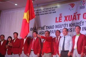 TP.HCM tổ chức lễ xuất quân đoàn Thể thao người khuyết tật Việt Nam dự Asian ParaGames