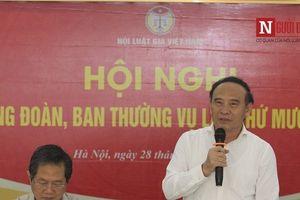 Hội nghị Đảng đoàn–Ban Thường vụ Trung ương Hội Luật gia Việt Nam lần thứ mười sáu