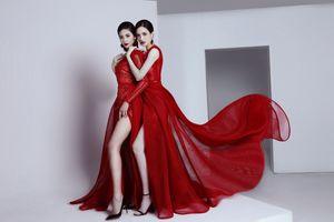 Hoa hậu Ngọc Hân, á hậu Hoàng Anh nóng cực độ trong thiết kế của Hà Duy
