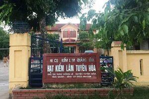 Quảng Bình: Đối tượng đánh Hạt trưởng kiểm lâm tại trụ sở bị khởi tố