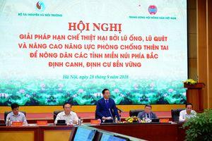 Bộ TN&MT, Hội Nông dân Việt Nam tìm giải pháp hạn chế thiệt hại bởi thiên tai lũ ống, lũ quét cho nông dân các tỉnh miền núi phía Bắc